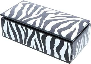 zebra print jewelry box