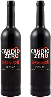 Elivo Cardio Red Non-Alcoholic Red Wine 750ml (2 Bottles)