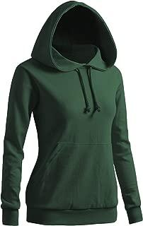 Women's Solid Hoodie Pocket Long Sleeve Hoodie