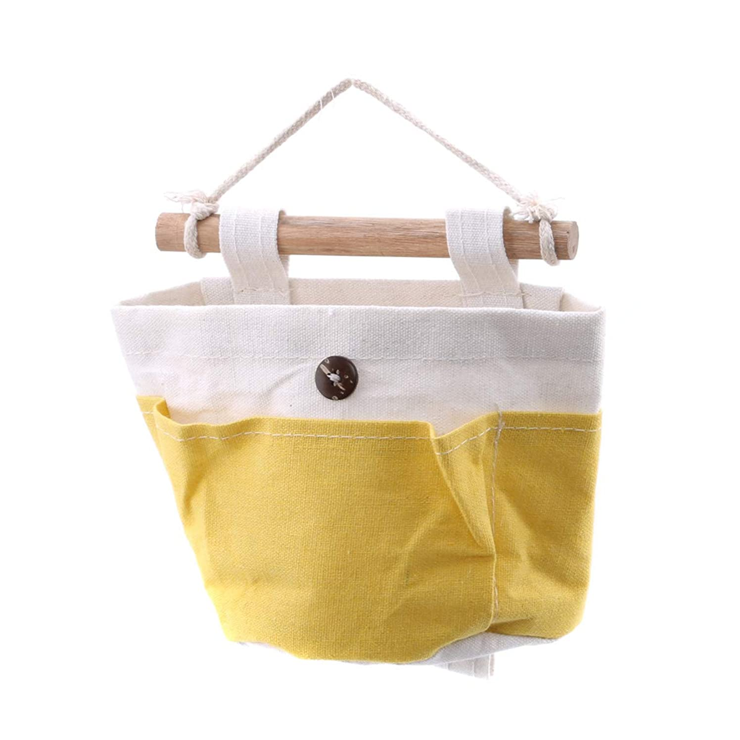 ルーム千マイナスMODMHB ウォールポケット 吊り下げ袋 壁掛け収納 小物 鍵 文房具 手紙入れ 書類分け 整理 収納袋 コンパクト