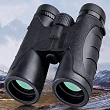 APZNOE 10x42 Binoculars for Adults - Professional Prism Binoculars for Bird Watching Hunting Travel Safari Sightseeing Concerts Sports - Compact Folding Size - High Clear Large Vision