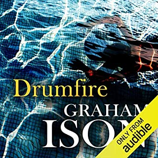 Drumfire audiobook cover art