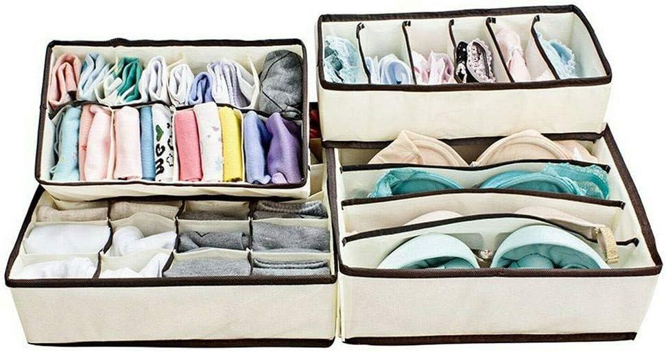 ZPTECH Rare Animer and price revision Drawer Organizers Wardrobe Collaps Organiser Socks