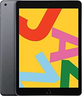 New Apple iPad (10.2-Inch, Wi-Fi, 128GB) - Space Gray (Latest Model)