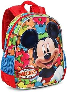 Mickey Mouse Delicious Mochilas Infantiles, 30 cm, Rojo