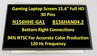 Matte 120Hz Upgrade SCREENARAMA New Screen Replacement for MSI GL62VR 7RFX FHD 1920x1080 LCD LED Display with Tools