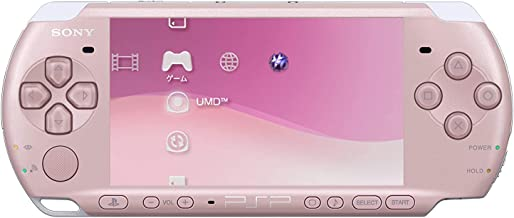 New Sony Playstation Portable PSP 3000 Series Handheld Gaming Console System (Renewed) (Pink)