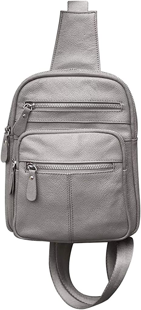 SILVERFEVER Leather Sling Backpack Ranking TOP11 Men Ladies Organizer Unisex Detroit Mall