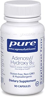 Pure Encapsulations - Adenosyl/Hydroxy B12 - Hypoallergenic Blend with Vitamin B12 for Nerve and Mitochondrial Support - 9...