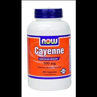 Now Foods, Cayenne, 500 mg, 250 Veggie Caps
