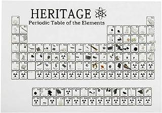 Apostasi Acrylic Simple Pro Periodic Table, Portable Acrylic Graphic Education Teaching Tool Craft Decoration with Display...