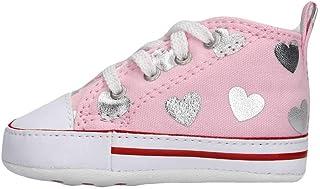 Converse Baskets toile rose bébé fille Rose Chaussures