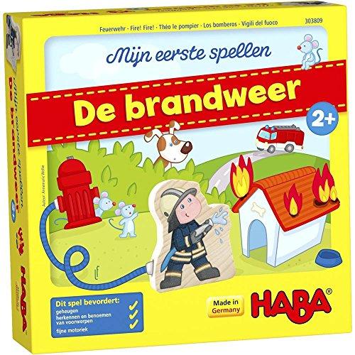HABA Spel - Mijn eerste spellen - De brandweer
