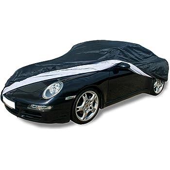 Soft cover pour int/érieur de voiture de voiture avec des poches de miroir pour porsche boxster 981