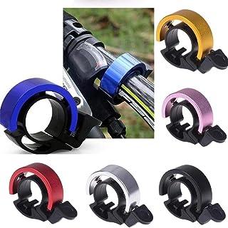 QZ Aluminum Alloy 90db Horn Bike Bell Cycling Handlebar Alarm Ring For MTB Cycling (Color : Silver)