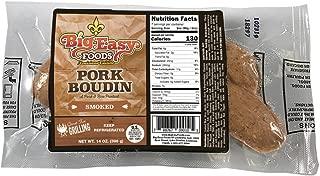Big Easy Foods Smoked Pork Boudin 14oz. (4 Pack)