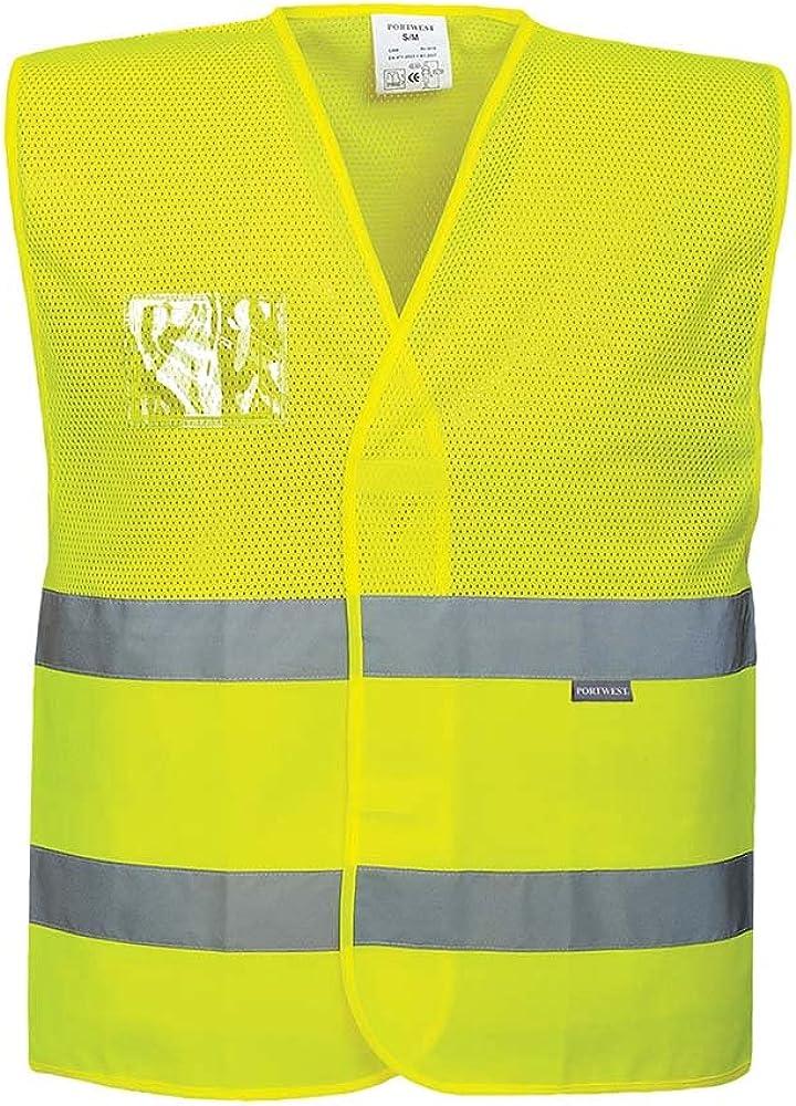 Portwest Workwear Mens Hi-Vis Mesh Vest