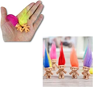 JDProvisions Mini Trolls PVC Novelty Mini Figurines Party Bag Fillers (12 or 24 Pieces)