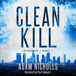 Clean Kill audiobook cover art