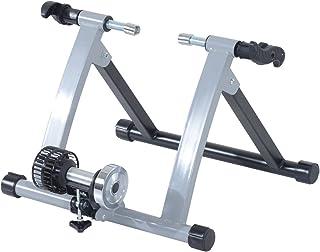 comprar comparacion HOMCOM Rodillo Entrenamiento Bicicleta Acero Cicloentrenador Bici Interior Ciclismo