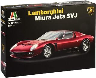 ITALERI 3649S - 1:24 Lamborghini Miura Jota SVJ , modelarstwo, budowanie modeli, budowa modeli stojących, majsterkowanie, ...