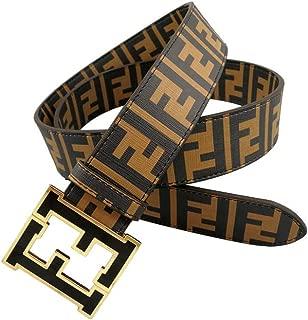 Fashion Men's belts Alloy buckle pants dress black belt