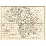 Wee Blue Coo 1799 Clement Cruttwell Map Africa Vintage Unframed Wall Art Print Poster Home Decor Premium