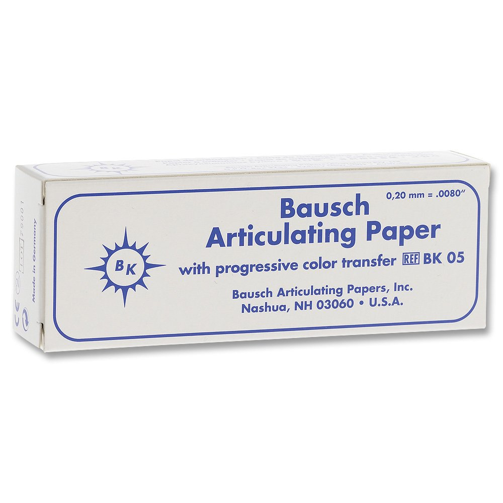 BAUSCH - 200 Microns Straight 30 Thin Booklets Bargain Year-end annual account Blue .008in