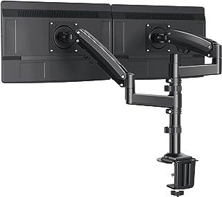 """ErGear 13 """"-32"""" / 12KG Podwójne ramię monitora Ultraszeroki ekran Innowacyjna technologia przeciwwagi ze sprężyną gazową p..."""
