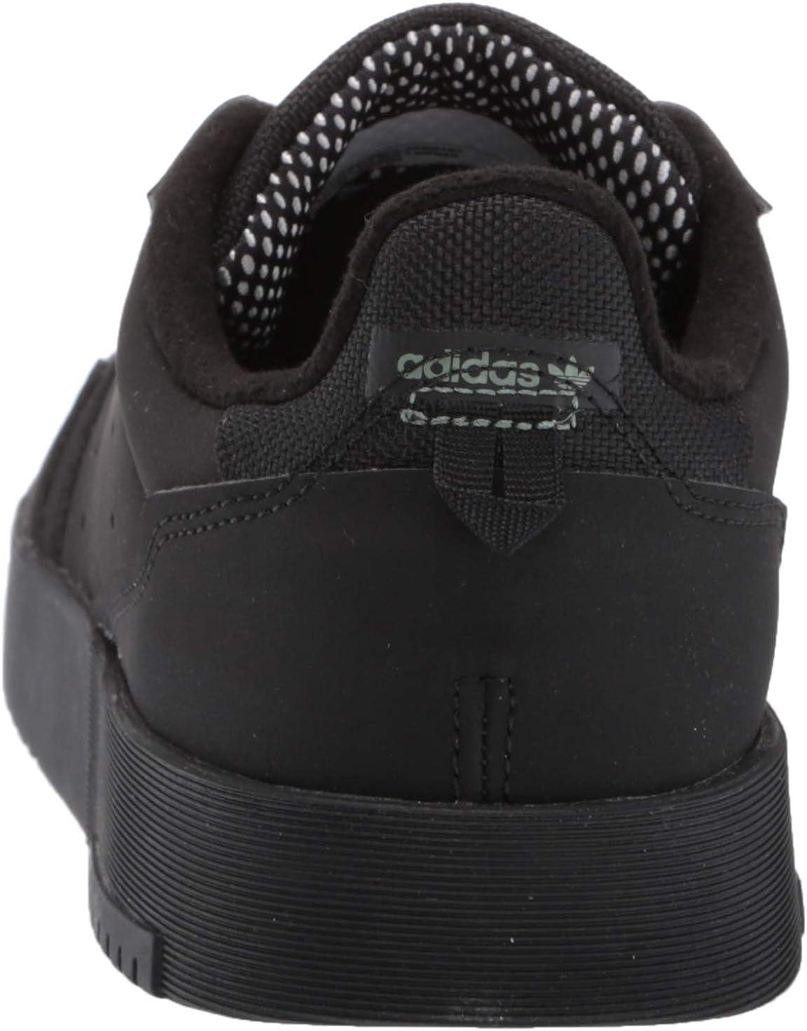 adidas Originals Men's Supercourt Sneaker Core Black Core Black Core Black
