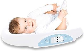 Rhino BABE-25 Báscula Digital Para Bebés. Capacidad 25 Kg, Precisión 5 g. Fabricada En Plástico ABS, Pantalla Luminosa, Di...