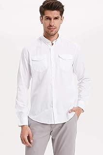 DeFacto Moden Fit Uzun Kollu Gömlek