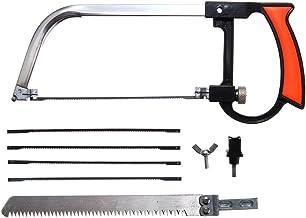 Juego de sierras manuales multifunción para bricolaje, cortador de herramientas manuales para vidrio, madera, metal