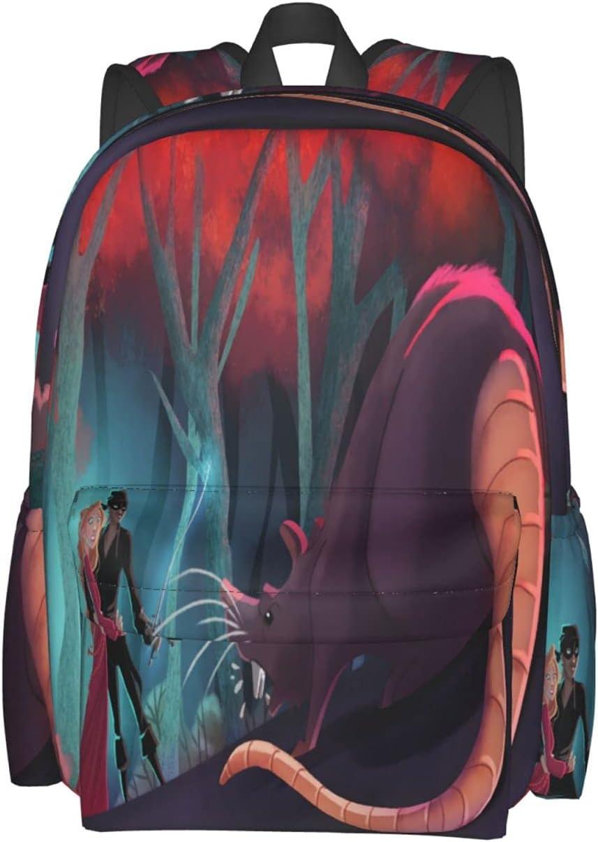 Unisex OFFicial shop Classic Lightweight Laptop Rucksack Princess favorite Bookbag Bag