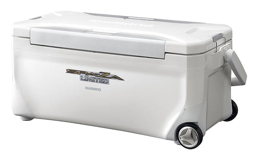 音声足音差別するシマノ(SHIMANO) クーラーボックス 35L スペーザ リミテッド キャスター付 350HC-135M 釣り用 ピュアホワイト