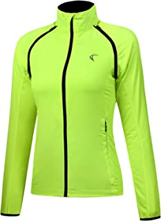 J.CARP Women Cycling Jacket Windproof Water Resistant Softshell