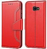 Tenphone Coque Samsung Galaxy J4 Plus 2018, Protection Etui Housse en Cuir Portefeuille,[Livre...