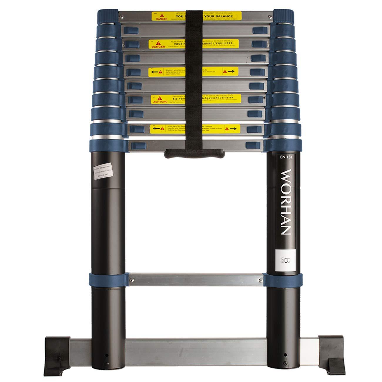 worhan® 3.2 m Escalera telescópica aluminio escalera de aluminio telescópica (aluminio escalera aluminio escalera telescópica Escalera multifunción (320 cm 1 K3.2 (..... 3.2 m B de Line): Amazon.es: Bricolaje y herramientas