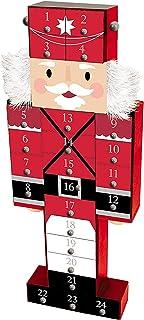 DesignGroup Wooden Nutcracker Christmas Advent Calendar 24