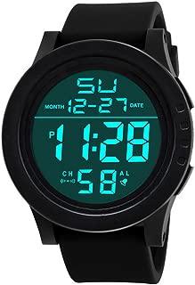 Sport Watch, 50M Waterproof Watch, Sport Wrist Watch for Men Women Kids, Digital Watch with Alarm Date and Time