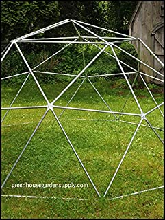 GEODESIC DOME 14 Ft. Frame Only - Greenhouse for Aquaponics