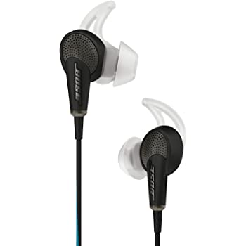 Bose QuietComfort 20 Acoustic Noise Cancelling headphones - Apple devices ノイズキャンセリングイヤホン ブラック QuietComfort20 IP BK