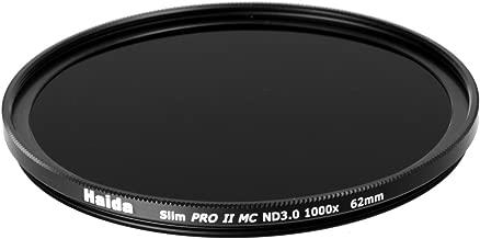 Haida 62mm MC ND1000 Filter Slim PROII Neutral Density Multi-Coated ND 3.0 1000x 10 Stop 62
