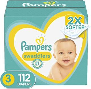 pampers swaddlers giant pack size 3
