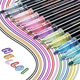 Markers, Neueste Outline Stift 12 Farben Wasserfester Stift Geschenkkarte Schreiben von Zeichenstiften zum Geburtstagsgruß, Schrottbuchung