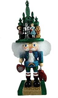Kurt Adler Wizard of Oz Nutcracker with Red Shoes and Clock OZ6141