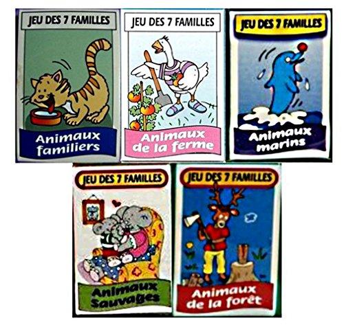 Mult toys LOT 10 Jeux DE 7 FAMILLES Animaux