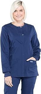 Cherokee Workwear Professionals WW340 Women's Snap Front Warm-up Jacket