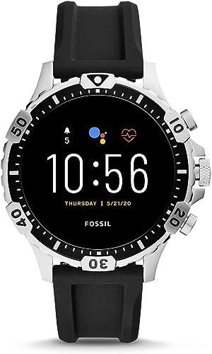 Fossil Hommes GEN 5 Smartwatch connectée avec écran tactile, Haut parleur, Rythme cardiaque, GPS, NFC et notification...