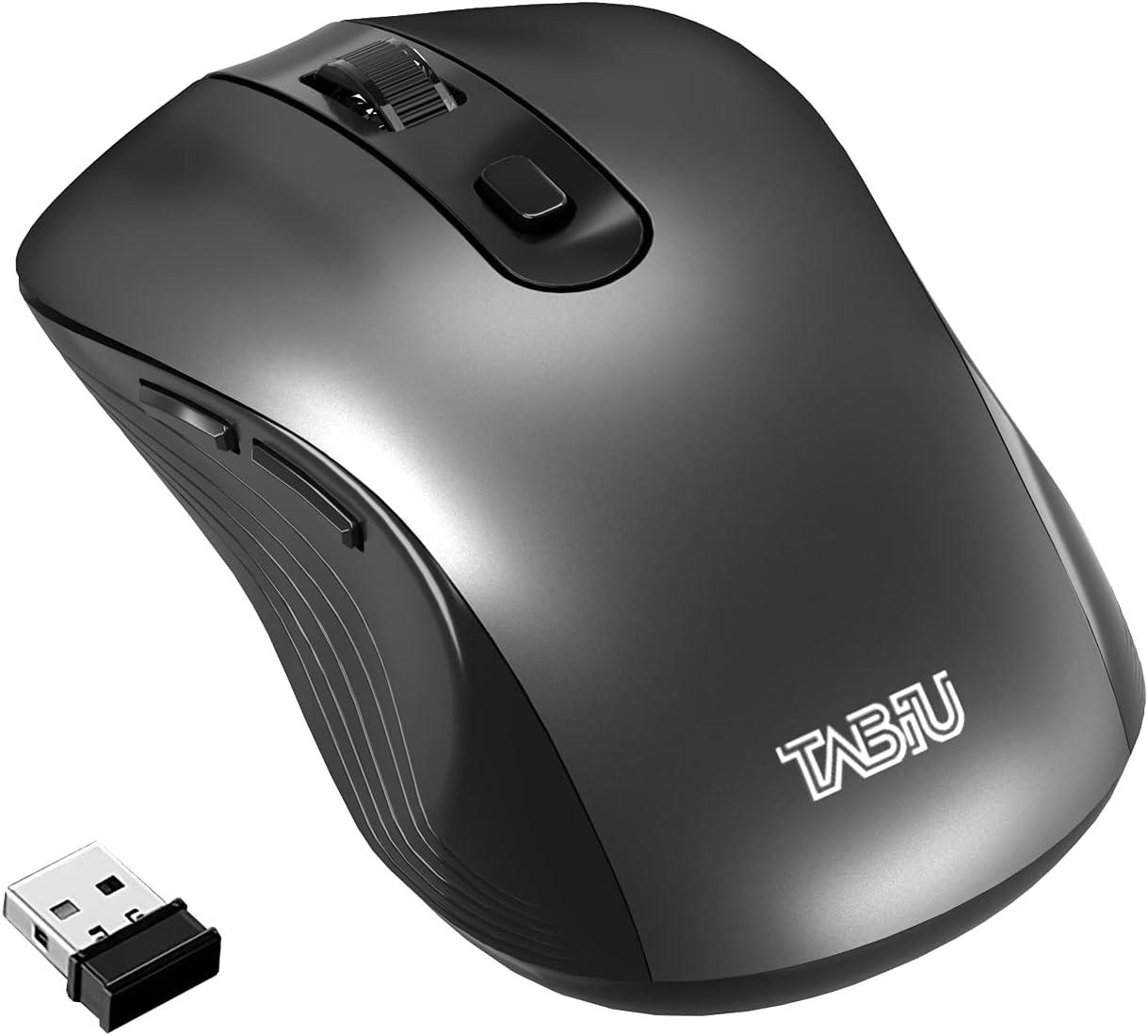 TNBIU Wireless Mouse 2.4G wit Ergonomics Today's only Cordless San Jose Mall 4000DPI